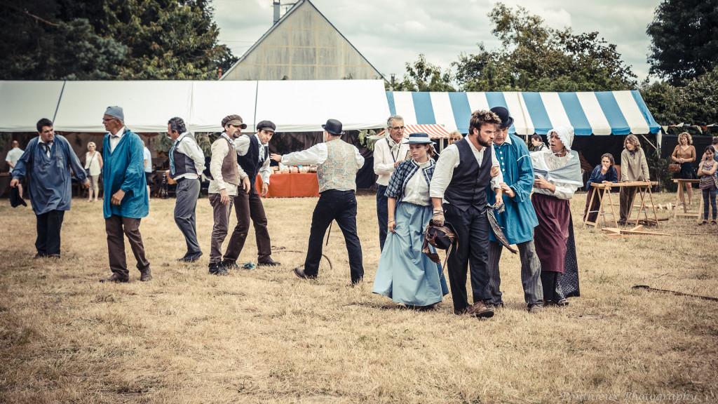 Adèle, Poussin de Haie : jour de fête en 1868