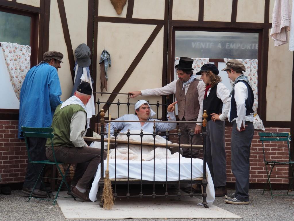 Adèle, Poussin de Haie : jour de fête en 1871