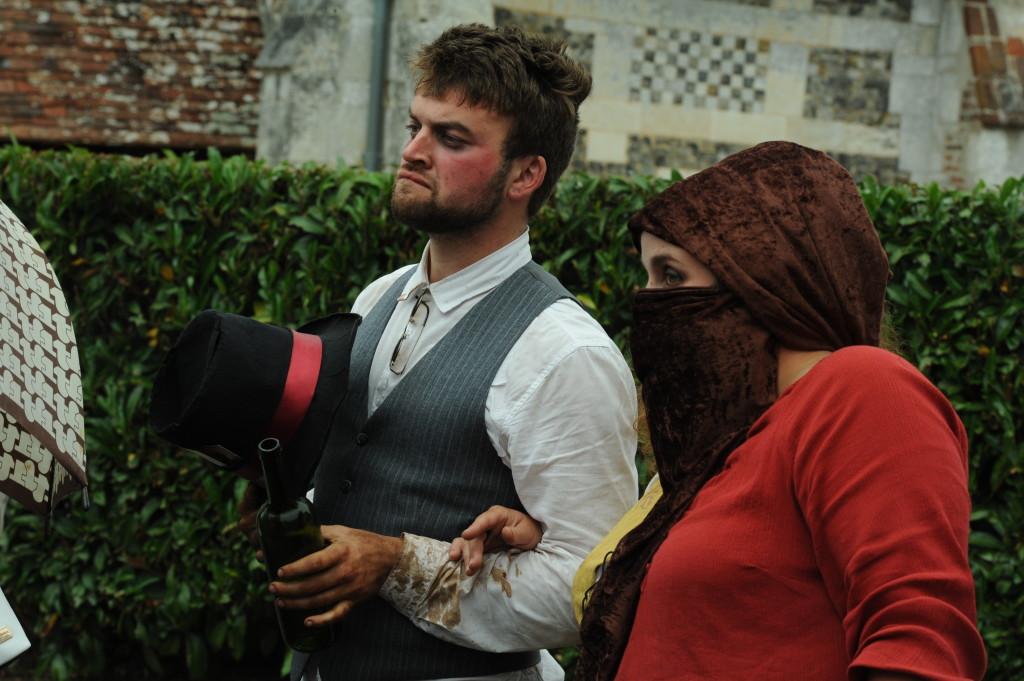 Adèle, Poussin de Haie : jour de fête en 1865